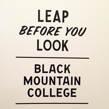 leap before you look – a visit to the ICA.