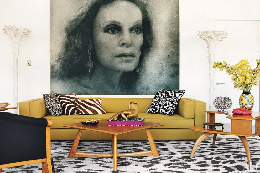 decorating with portraiture.
