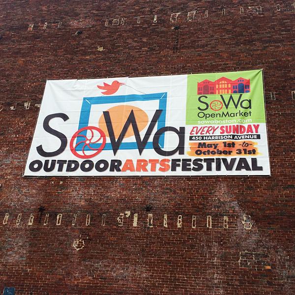 SoWa open market.