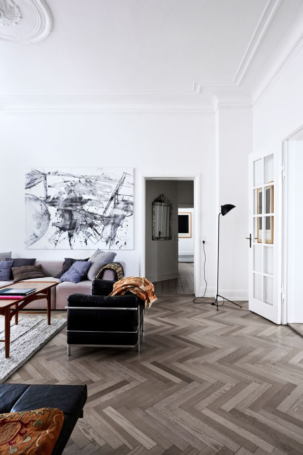 Rooms With Herringbone Floors