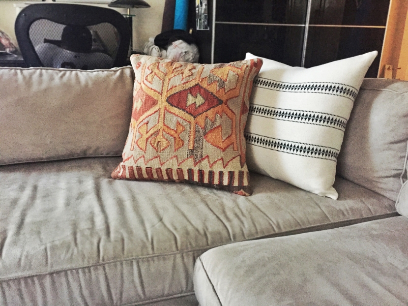 throw pillow refresh.